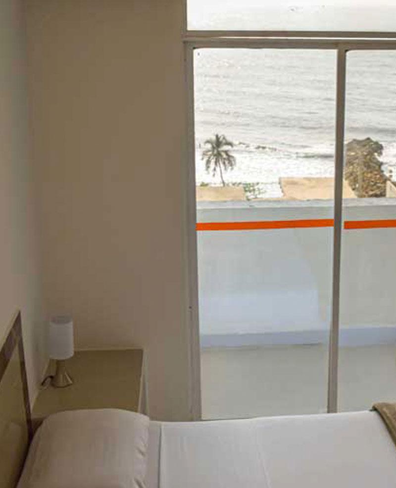 vistas desde la habitacion del hotel