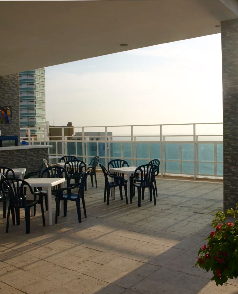 piscina del hotel cartagena premium