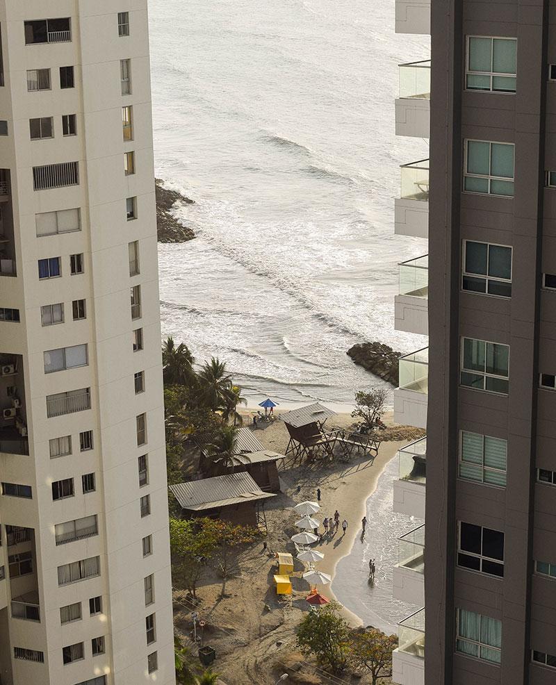vistas al mar desde nuestro hotel
